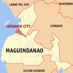 Wikipedia- Map of Cotabato City